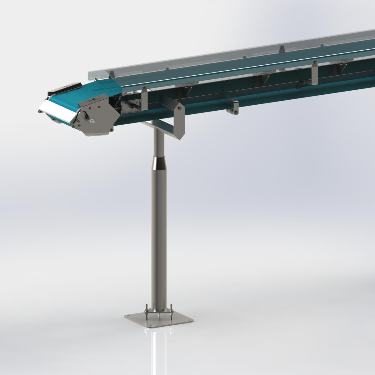 Conveyor ground stand